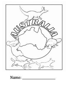 Children Will Be Learning Where Is Located Flag And Culture About Australia
