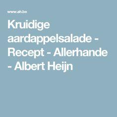 Kruidige aardappelsalade - Recept - Allerhande - Albert Heijn