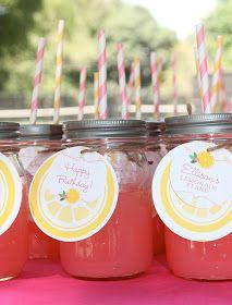 My Wedding Lab: DIY: Cómo Hacer Pink Lemonade... ¡Riquísima!