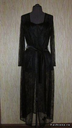DIY МК Комплект из пеньюара – сорочки и кружевного халата / пеньюар что это такое