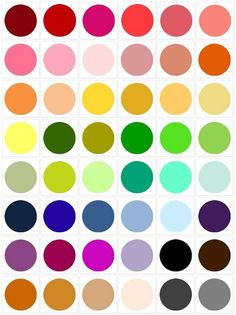 Browse Color Palettes ☛ ow.ly/6N8KM