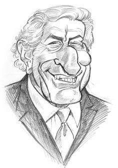 Singer Tony Bennett, illustration of Tom's MAD BLOG