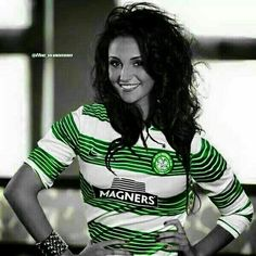 Michelle Keegan, Big Hoops fan along with the rest of her family