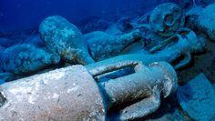 Tutto il materiale anforico ritrovato nel mare di Levanzo