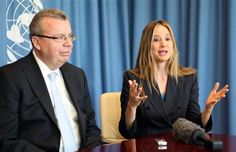 """UNODC Goodwill Ambassador Mira Sorvino: Advocating against human trafficking and modern-day slavery is """"my calling"""" and so important that """"in a decade or so, I wouldn't mind just switching to a career in humanitarian causes."""""""