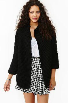 Jocelyn Knit Jacket in Black