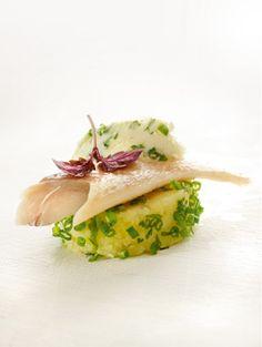 Recepten - Geplette aardappel gepaneerd in groene kruiden