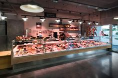 Halles des 5 Cantons market by Nakide, Anglet – France Protein Shop, Bbq House, Fresh Food Market, Local Butcher Shop, Meat Store, Wholesale Food, Bread Shop, Retail Solutions, Retail Store Design