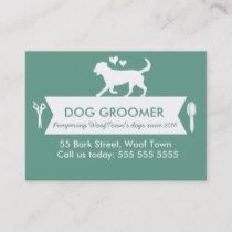 Dog Groomer Appointment Card Personalizable Zazzle Com With