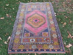 VINTAGE RED RUG Carpet Wonderful Vintage Central Anatolia Rug