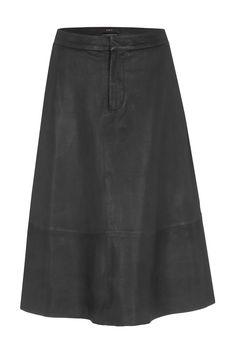 SET Leather A-Line Skirt: https://www.set-fashion.com/leder-rock-0049422-9990
