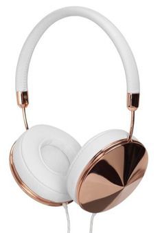 Frends Layla Rose Gold over-the-ear headphones. Aren't these gorgeous? (Great sound, too!)