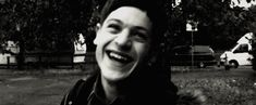 Like, just basic laughing, for example. | Iwan Rheon Is One Beautiful, Beautiful Man