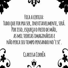 "- Resiliência Humana (@resiliencia_humana) no Instagram: ""@correa_clarissa"""