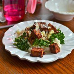 words & whisks: bbq tofu bowl