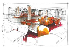 MOFFAT - sketch for a clubhouse on a residential site in Moffat - another growth sector .