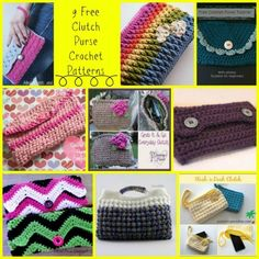 Clutch Purse Crochet Round Up
