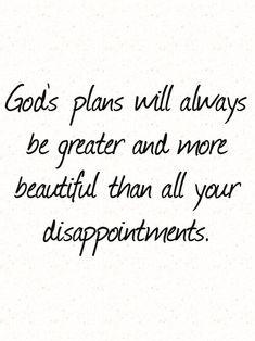 God's plan.