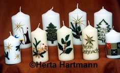 Candels, Pillar Candles, Henna Candles, Christmas Crafts, Xmas, Centerpieces, Beautiful Pictures, Homemade, Google