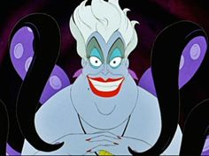 """5. Ursula - """"The Little Mermaid"""" Disney actually created the look of Ursula the Sea Witch by going off of the appearance of famous drag queen Divine."""