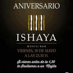 """Te invitamos esta noche 30 de mayo a """" nuestro Aniversario""""...10389679_474202496052817_2150230704616063093_n Mojito, Thing 1, Mayo, Zaragoza, Night, Fiestas"""