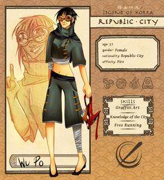 Republic City Application - Wu Po by KimTheKat on DeviantArt