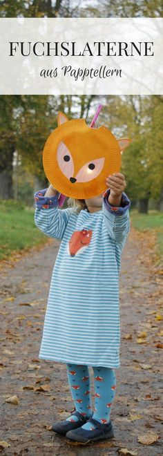 DIY: Frosch-Laterne und Fuchs-Laterne basteln aus Papptellern - How To Make Things Easy Fall Crafts, Fall Crafts For Kids, Diy For Kids, Fun Crafts, Diy And Crafts, How To Make Lanterns, Lantern Making, Diy Candles, Animales