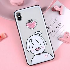 Moskado Phone Case For iPhone 6 6S 7 8 Plus X XR XS Max Case Cartoon Cute Cat Love Heart Heat Dissipation Hard PC Phone Cover Outfit Accessories From Touchy Style | Animal, Cartoon, Cute Phone Cases, For Boy, For Girl, For Teenager, For Women's, Heart, iPhone 4, iPhone 6, iPhone 6 Plus, iPhone 6s, iPhone 7, iPhone 8, iPhone Cases, iPhone XS, iPhone XS MAX, Sport, TPU. | Free International Shipping.