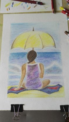 Dream - pastel drawing