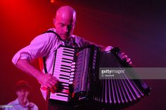 James Fearnley of the Pogues during The Pogues in Concert at The Nokia Theater in New York City - March 2006 at Nokia Theatre in New York City, NY, United States. The Pogues, New York City, Theater, March, United States, Stock Photos, Concert, Fictional Characters, New York