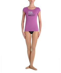 Another great find on #zulily! Amethyst NYCB Tee - Women #zulilyfinds