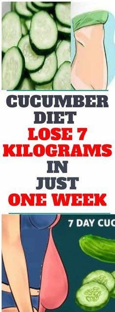 Cucumber Diet – Lose 7 Kilograms In Just One Week #cucumber #diet #shake #onion #mixture #blend