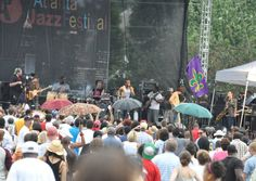 Atlanta Jazz Festival. Over the years the Atlanta Jazz Festival has been backdrop to musical legends such as Miles Davis, Dizzie Gillespie and Nina Simone. The Atlanta Jazz Festival is the perfect way to start your Memorial Day weekend.