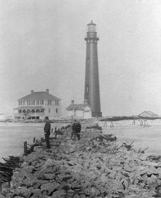 sand island al lighthouse | Sand Island Lighthouse, Alabama at Lighthousefriends.com