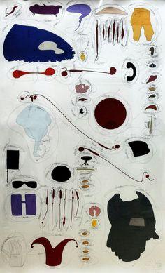 """""""Fragments d'un discours amoureux"""" - Jorinde Voigt (2012) - centre Georges Pompidou - Paris 4"""