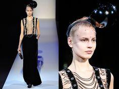 La donna garconne di Armani A/I 2013 - Tendenze donna - diModa - Il portale... di moda