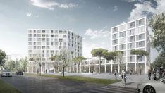 Quartierszentrum, Allmann Sattler Wappner, München, neubau, wettbewerb…