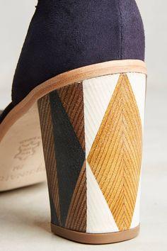 Slide View: 5: Bernardo Hayden Block Heels