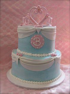 Birthday Cake Photos - Cinderella cake for 'Bella'