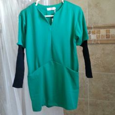 Green dress Fit size 4 to 6 Dresses