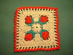 Ravelry: Project Gallery for Tulip Dishcloth pattern by Doni Speigle