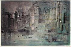 ✽   john piper -   'caernarvon castle I' -  screenprint in colours  -   1971  -  bonhams