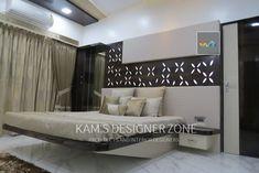 Bedroom interior design: bedroom by kam's designer zone Luxury Bedroom Design, Bedroom Furniture Design, Modern Interior Design, Home Decor Bedroom, Luxury Interior, Interior Designing, Bedroom Designs, Bedroom Ideas, Interior Decorating