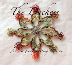 The Duchess  Tatting Pattern by cbfox on Etsy, $3.00