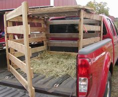 Pickup Truck Livestock Rack | Supplies for one 6' panel*: