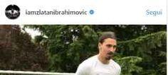 Ibrahimovic palleggio dopo 40 giorni dall'intervento per fortuna che si è operato da poco. ibrahimovic ha proprio voglia di tornare in campo. il campione svedese ha postato un video sul suo profilo instagram in cui scrive che i leoni non recuperano com #ibrahimovic #calcio #campionato #news