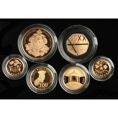 UK, 2014 Six-Coin Gold Proof Set Sold $3,700
