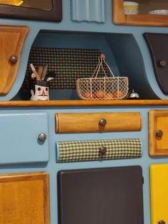Restaurant, Wood, Inspiration, Furniture, Marcel, Home Decor, Decoration, Retro Sideboard, Vintage Decor