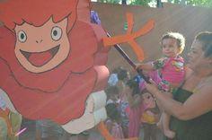 Nuestra piñata de Ponyo