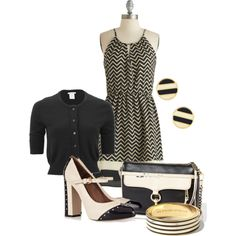 """""""Navy and Cream"""" by jvol1052 on Polyvore"""